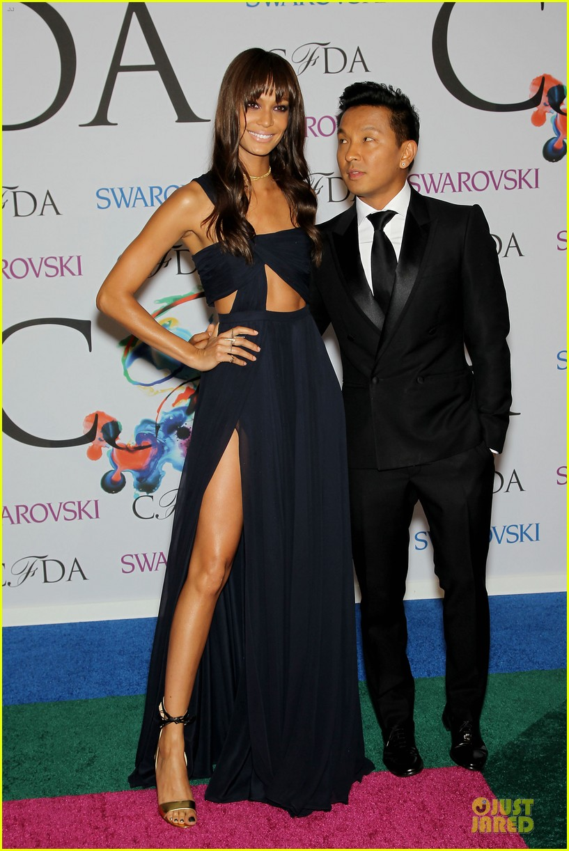 chanel iman joan smalls cfda awards 2014 14