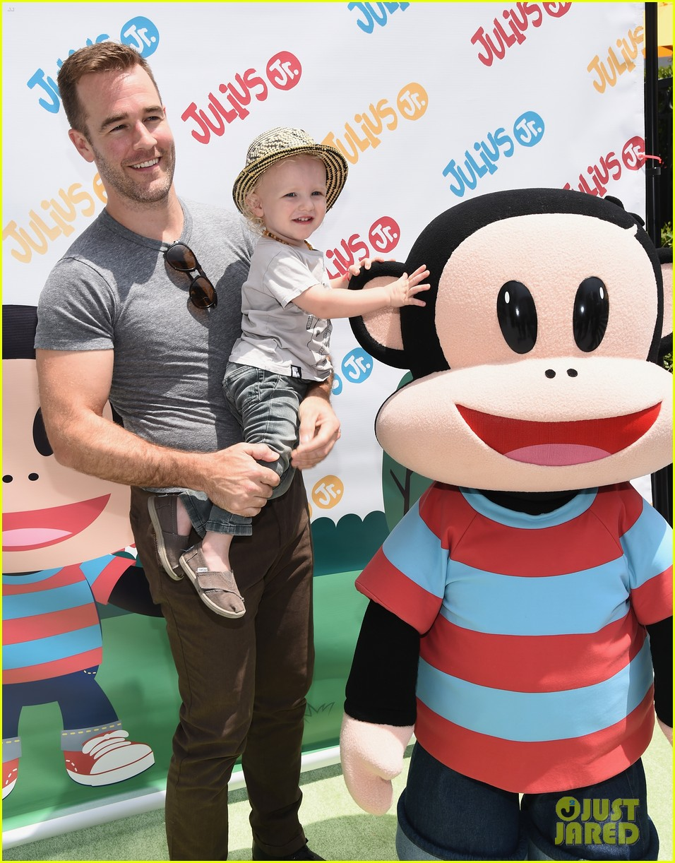 james van der beek is one hunky dad at fisher price toy launch 043143010
