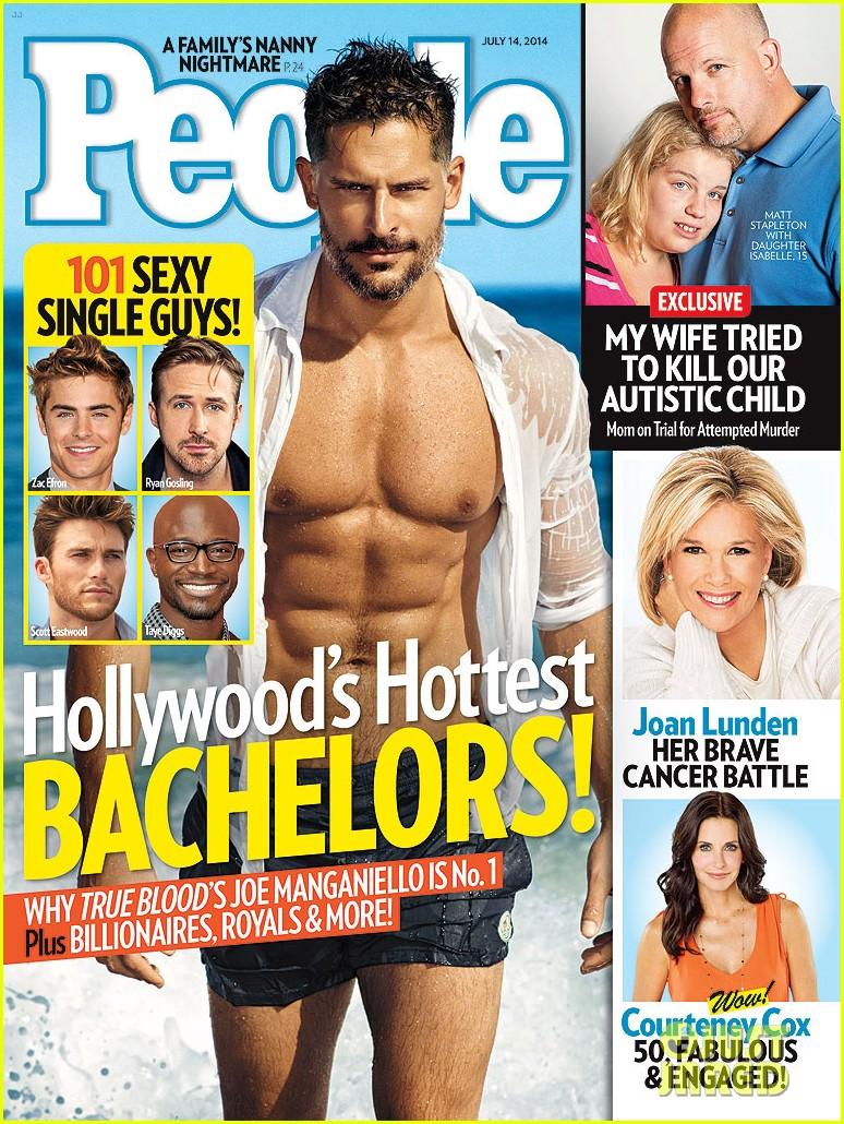 joe manganiello shirtless people hottest bachelor