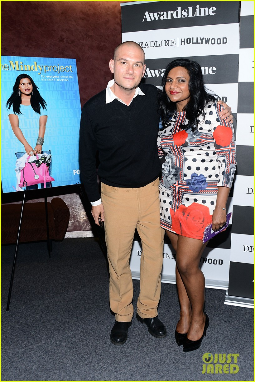 mindy kaling mindy project screening with the cast 01