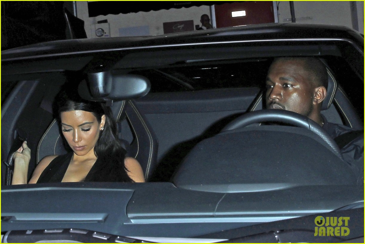 kim kardashian kanye west step out for dinner at craigs 093141680