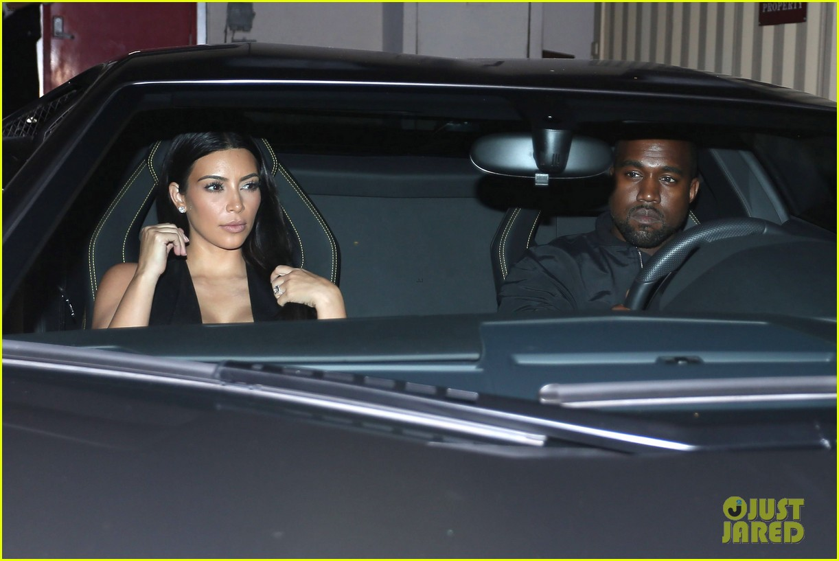 kim kardashian kanye west step out for dinner at craigs 14