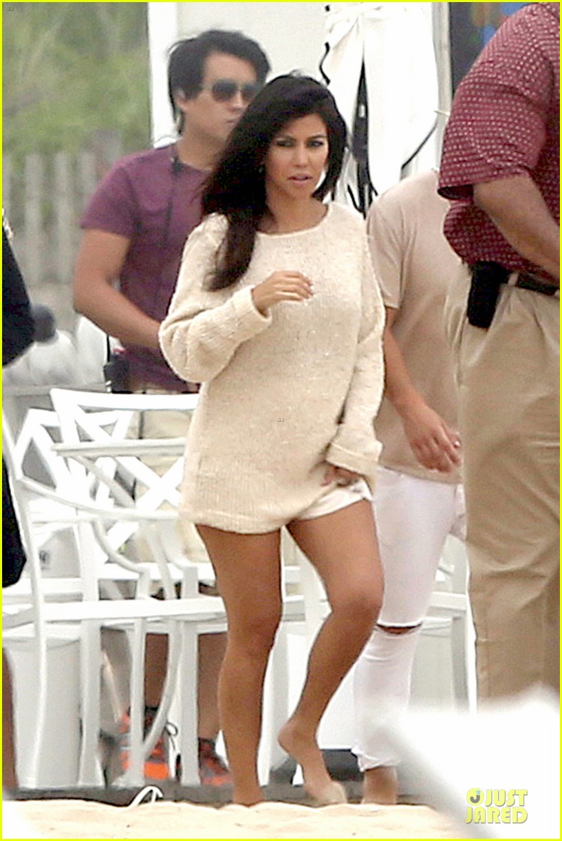 kim kardashian shops for north kourtney beach photoshoot 073137640
