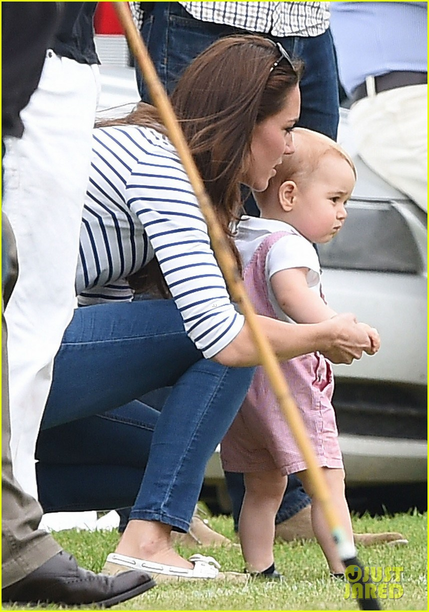kate middleton prince george william polo match 033135930