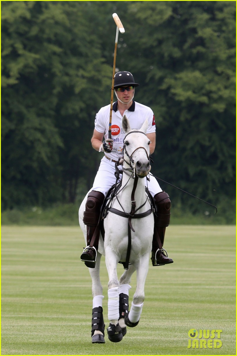 kate middleton prince george william polo match 17
