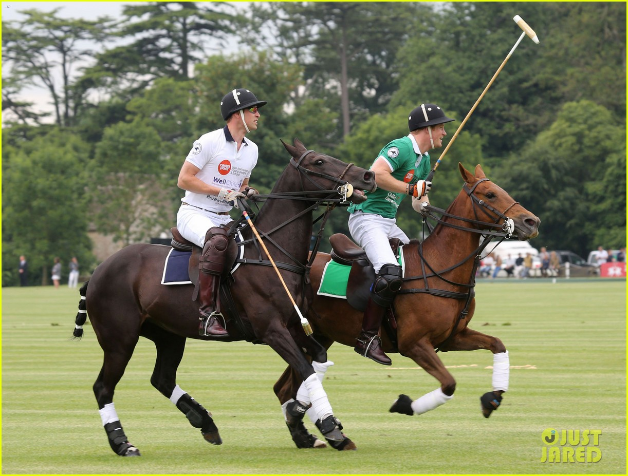 kate middleton prince george william polo match 32