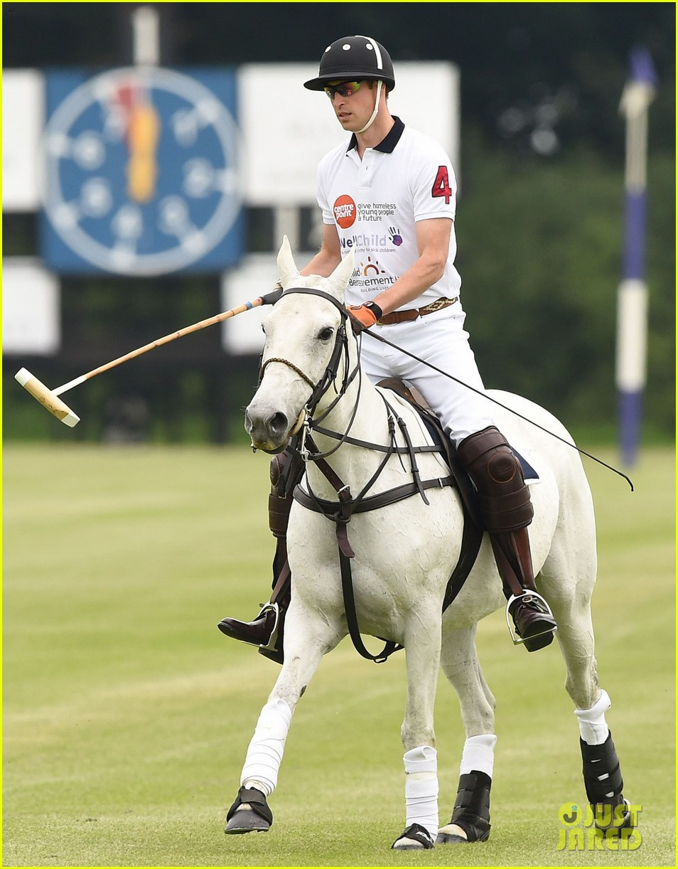 kate middleton prince george william polo match 413135968
