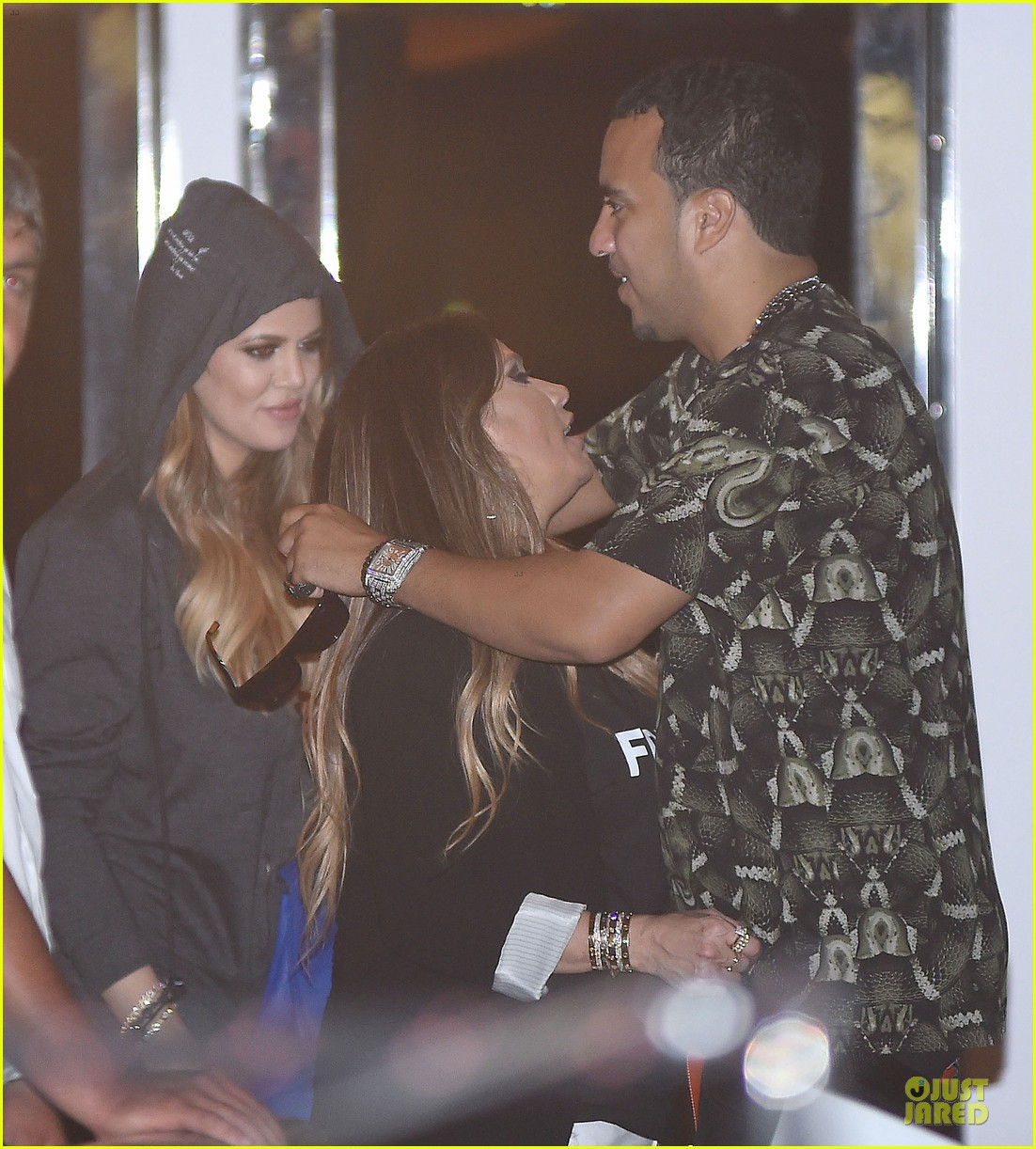 khloe kardashian french montana work off food after birthday celebration 093145643
