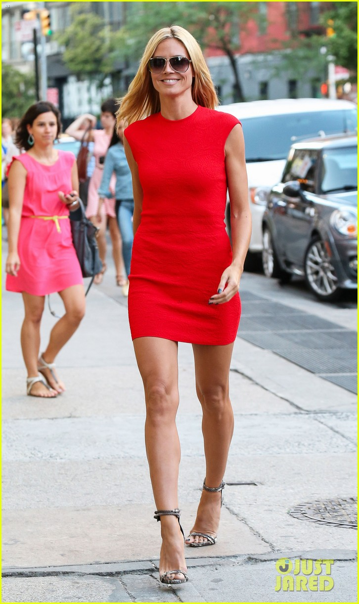 heidi klum is red hot in soho before america's got talent 07