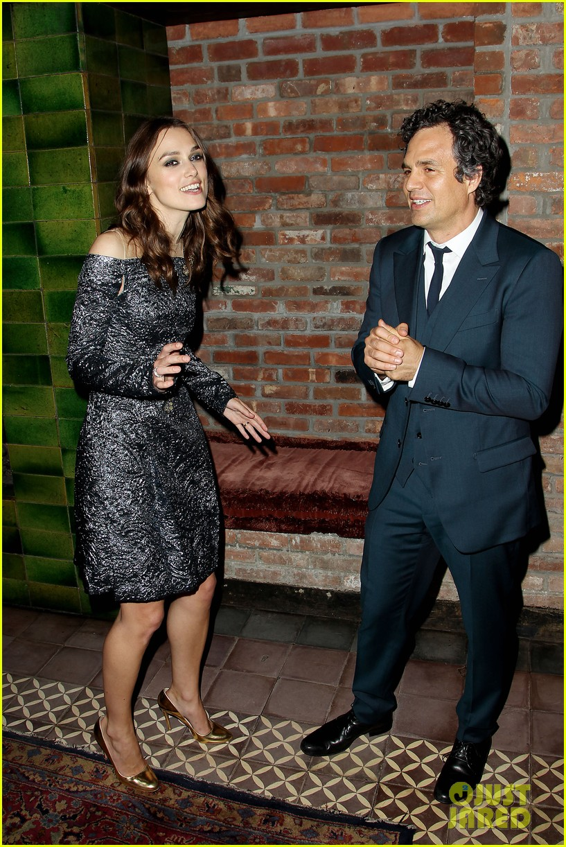 keira knightley mark ruffalo begin again after party 03