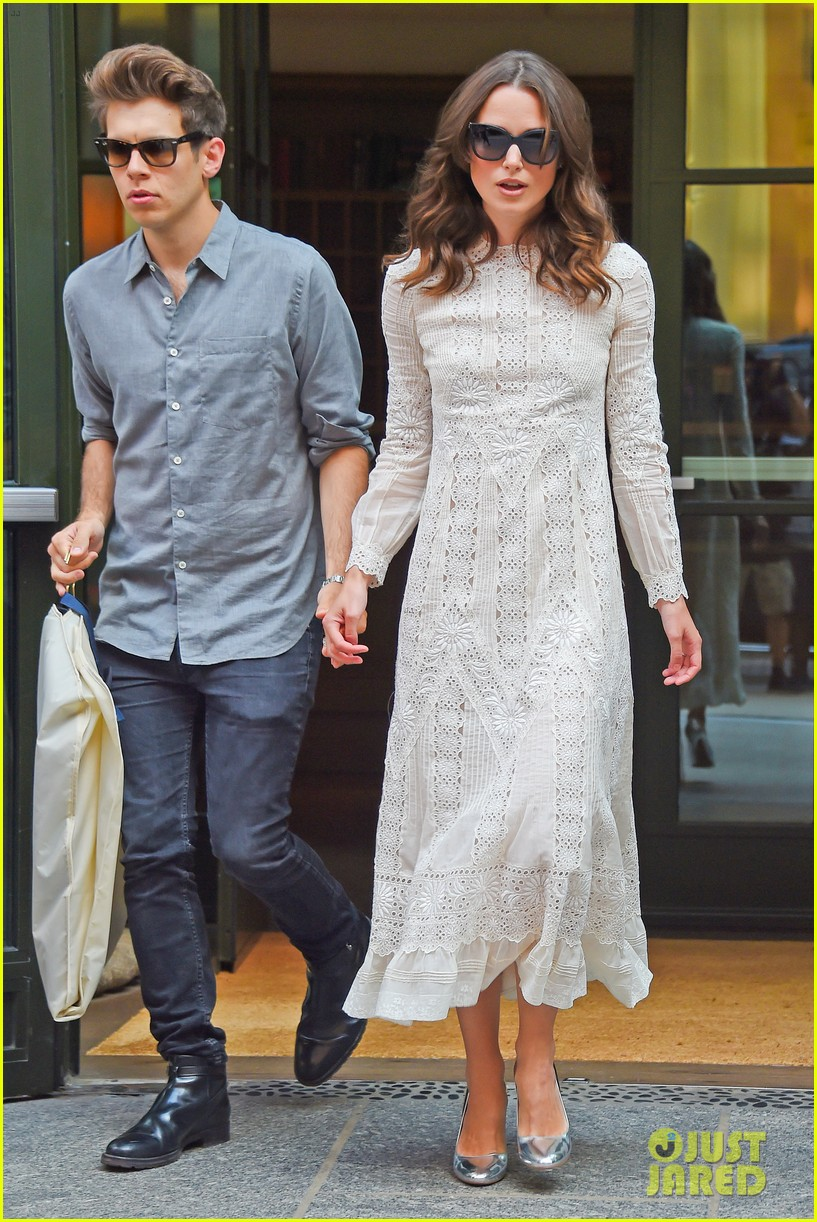 keira knightley james righton begin again premiere 12
