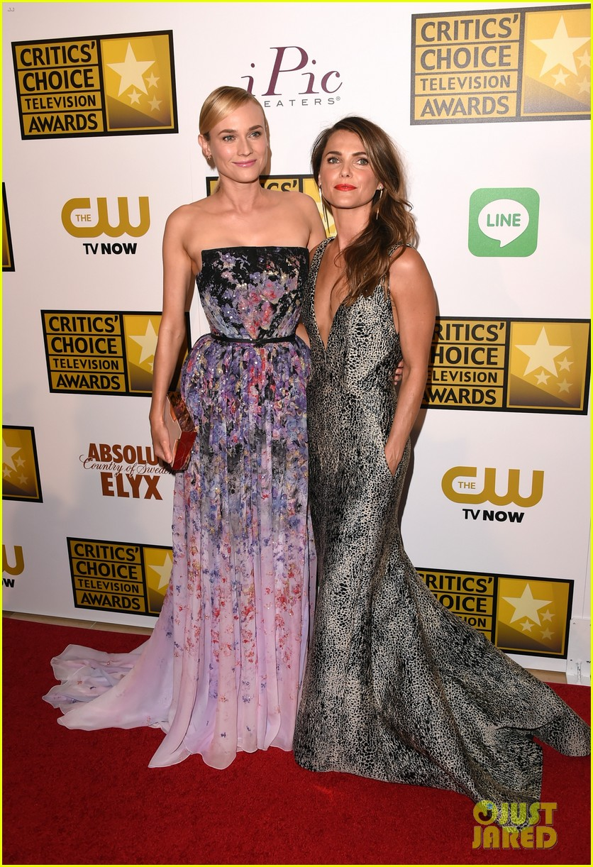 diane kruger keri russell critics choice tv awards 2014 20
