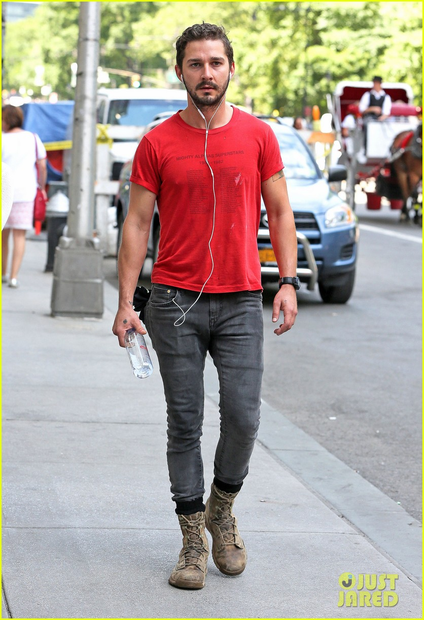 shia labeouf gym time vintage top 063140719