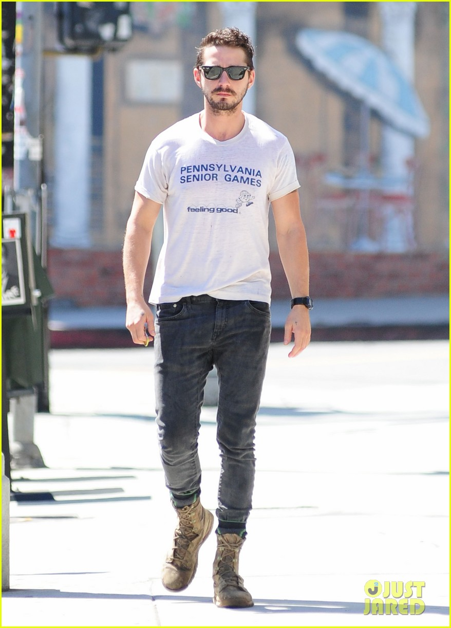 shia labeouf gym time vintage top 133140726