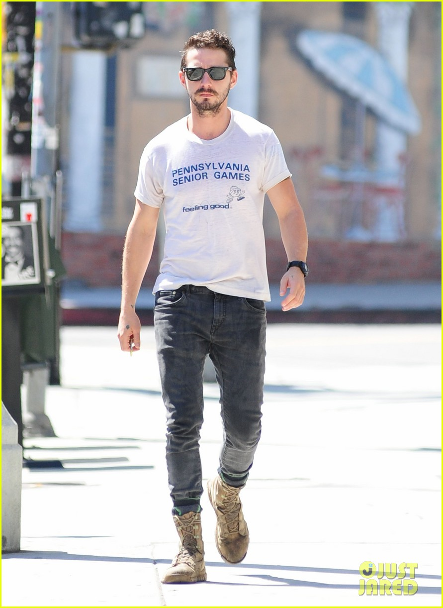 shia labeouf gym time vintage top 143140727