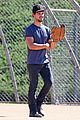 taylor lautner buff arms run the tide baseball pitch 20
