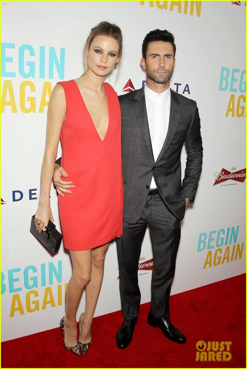 adam levine behati prinsloo begin again new york premiere 053143445