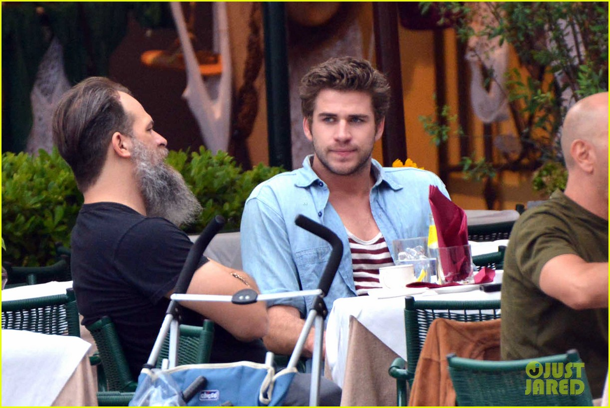 liam hemsworth takes a vacation in portofino 16