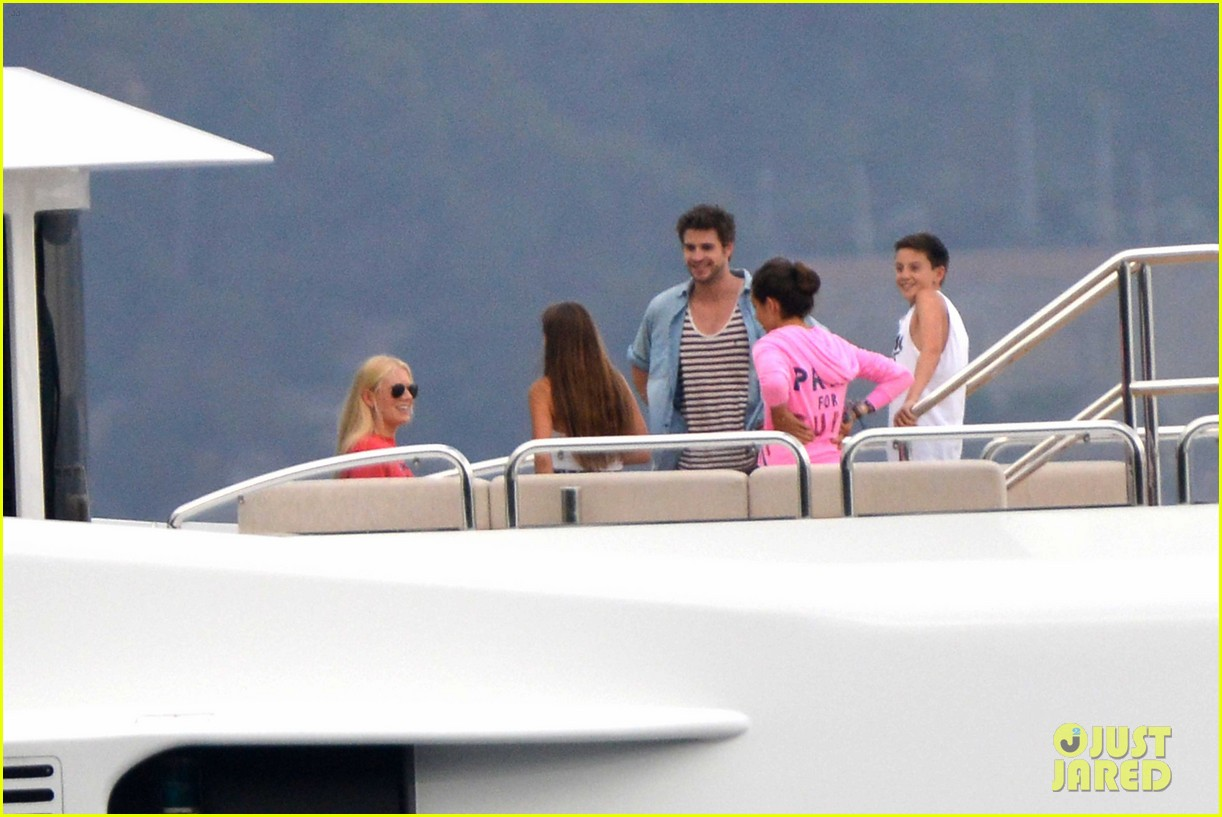 liam hemsworth takes a vacation in portofino 263144863