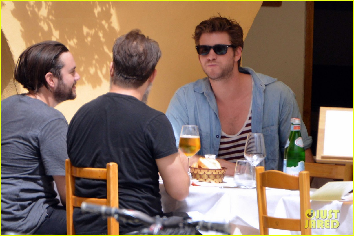 liam hemsworth takes a vacation in portofino 343144871
