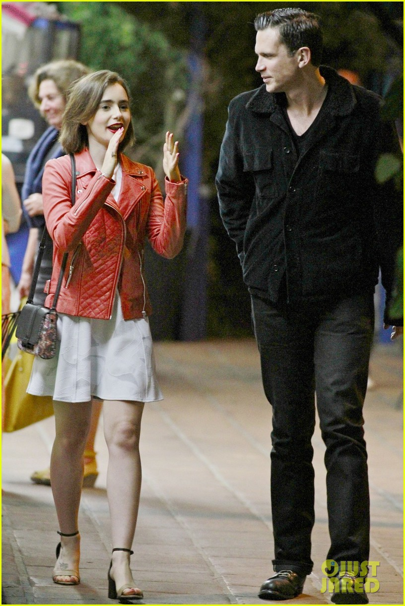 lily collins ashley hamilton sparks romance rumors 05