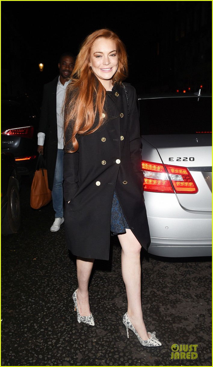 lindsay lohan change it up for dinner 143132778