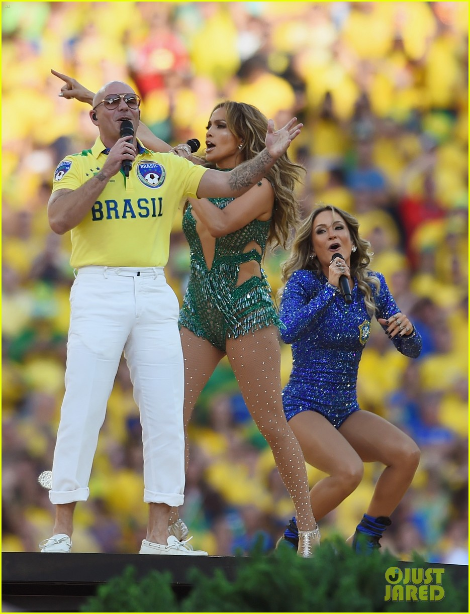 jennifer lopez performs at world cup 2014 opening ceremony with pitbull claudia leitte 16