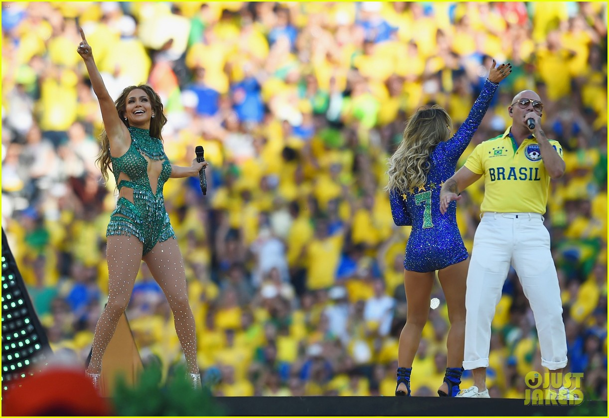 jennifer lopez performs at world cup 2014 opening ceremony with pitbull claudia leitte 173134075