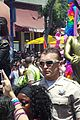 demi lovato really dont care music video shoot la pride 2014 08