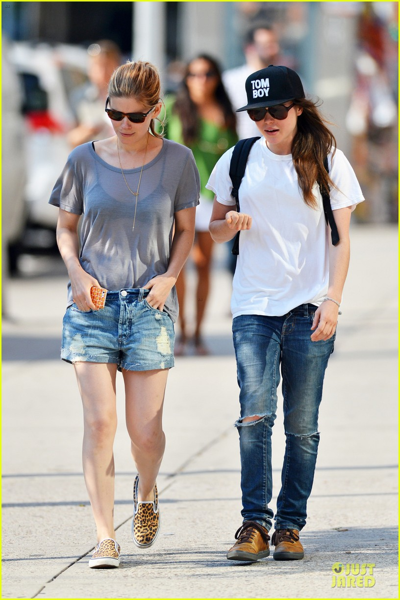 kate mara meets up with ellen page in see through top 02