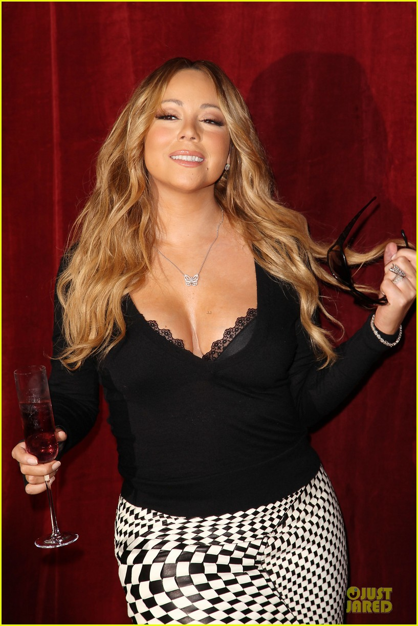 mariah carey bra gets exposure at butterfly launch 103132082
