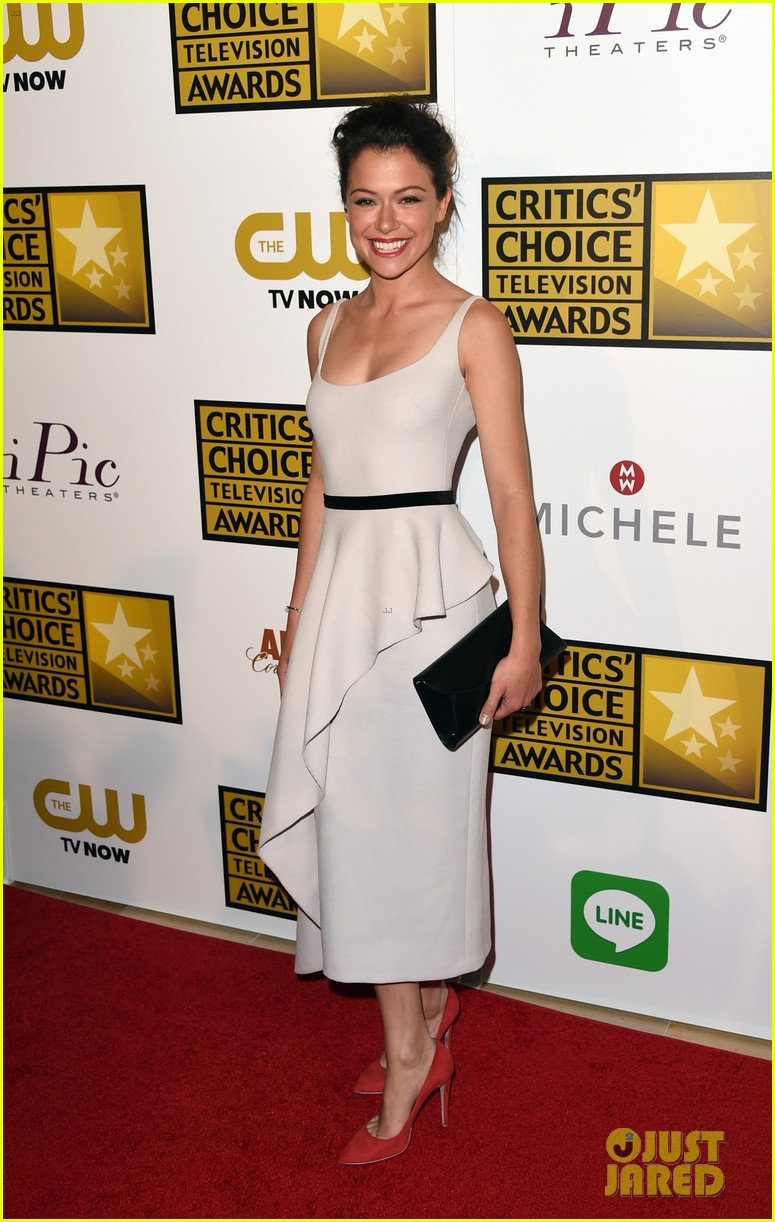 tatiana maslany michelle monaghan critics choice tv awards 2014 013139290