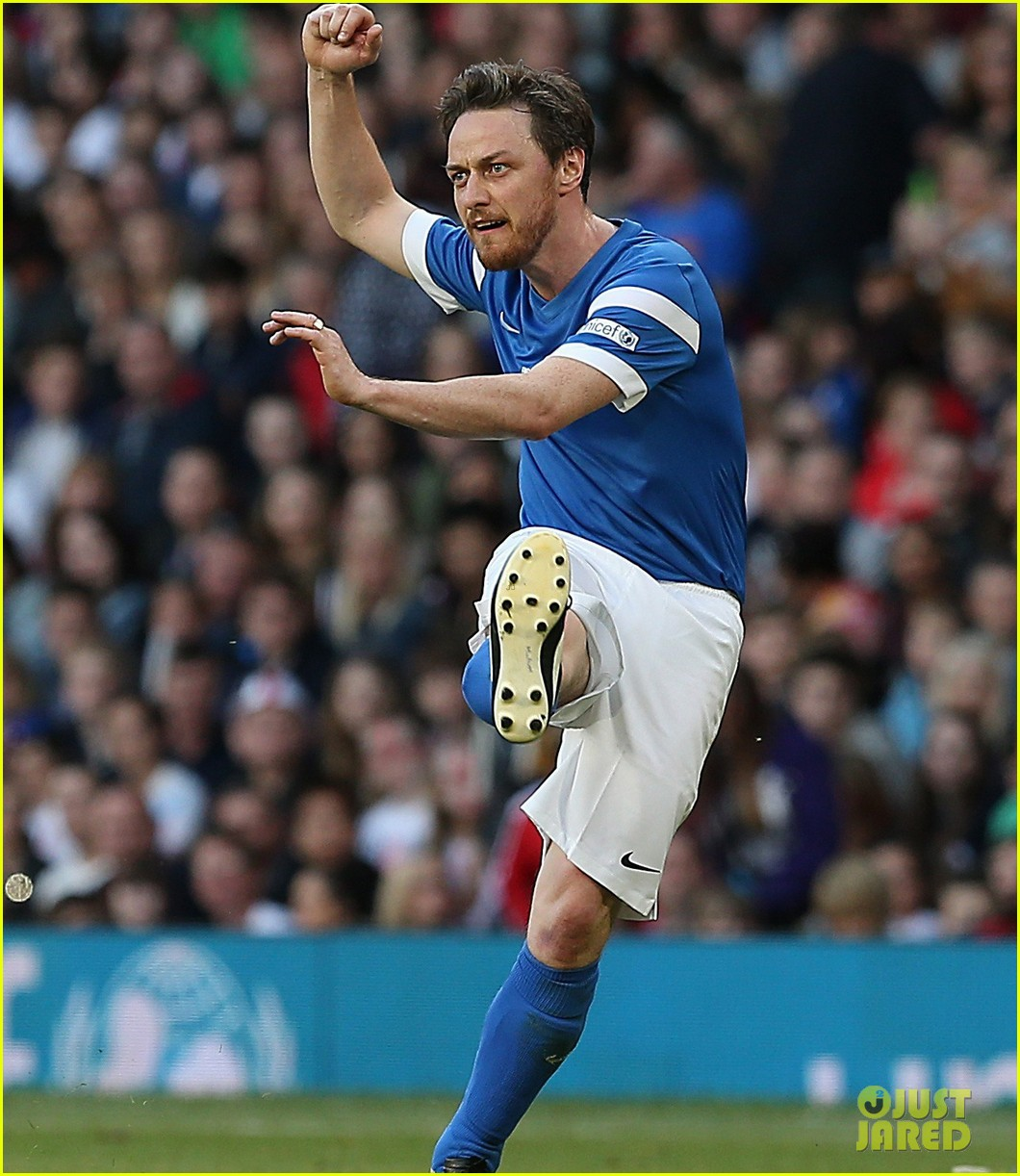 james mcavoy jeremy renner help tackle child poverty at soccer aid 2014 10
