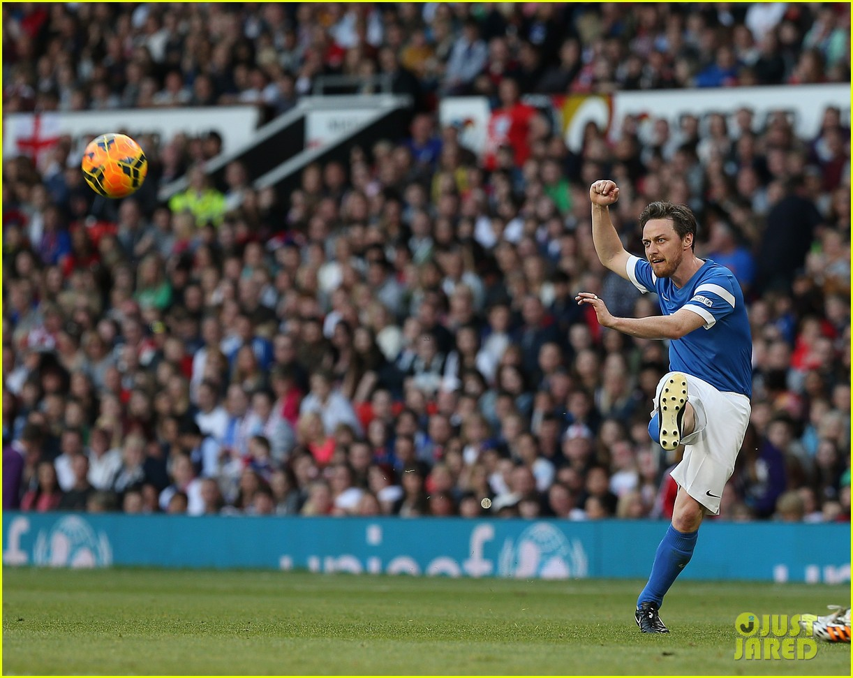 james mcavoy jeremy renner help tackle child poverty at soccer aid 2014 14