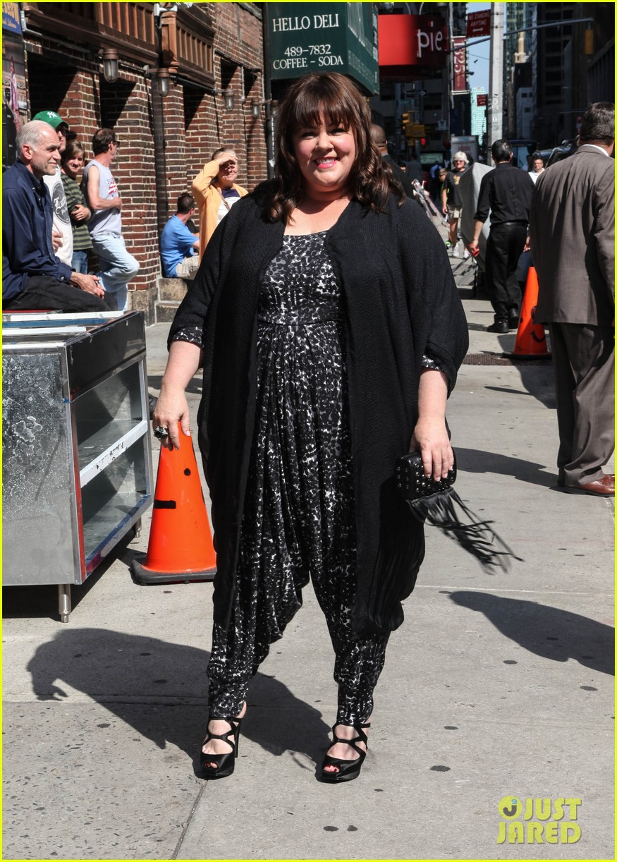 melissa mccarthy talks juggling work family on david letterman 063142940