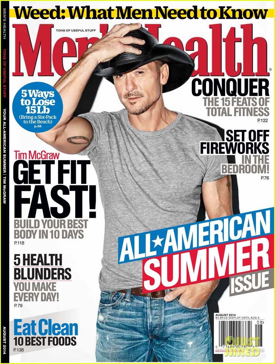 tim mcgraw shirtless mens health 013138302