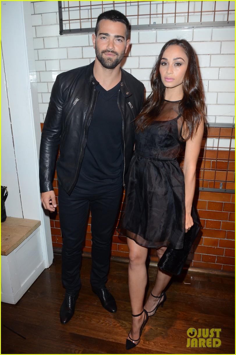 jesse metcalfe cara santana fashionable duo for london mens fashion week 04