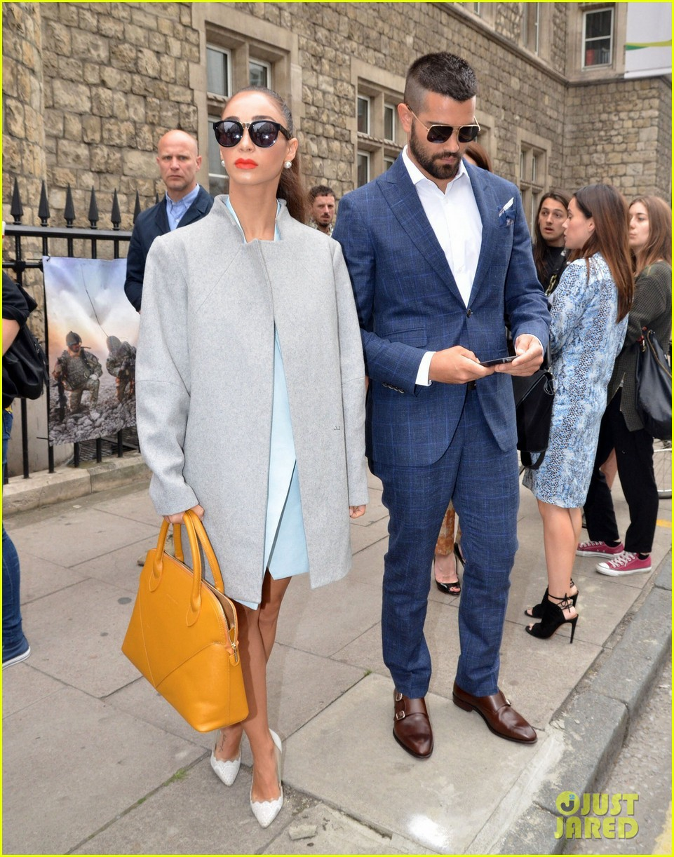 jesse metcalfe cara santana fashionable duo for london mens fashion week 16