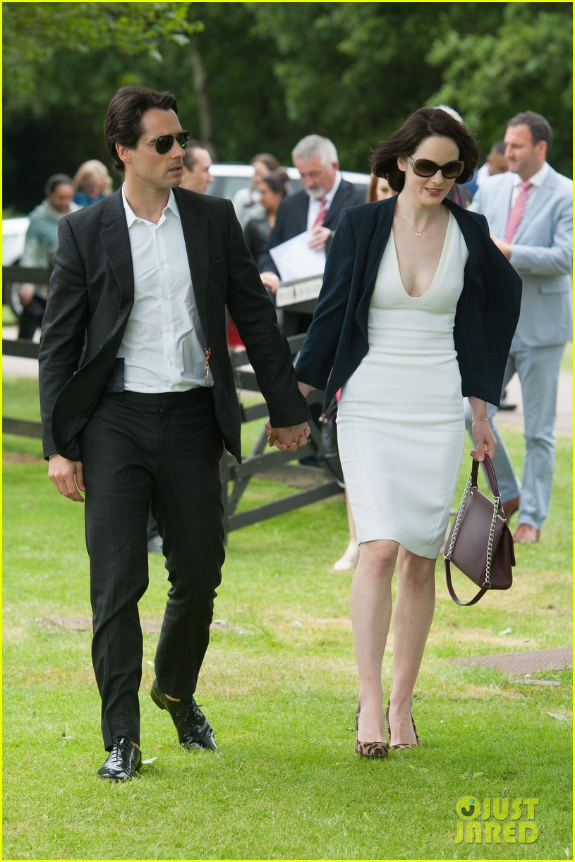 michelle dockery boyfriend john dineen cartier world cup 103135865