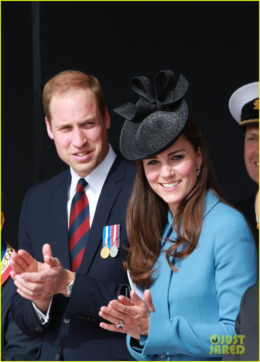 kate middleton prince william pay respects at d day 70th anniversary 04