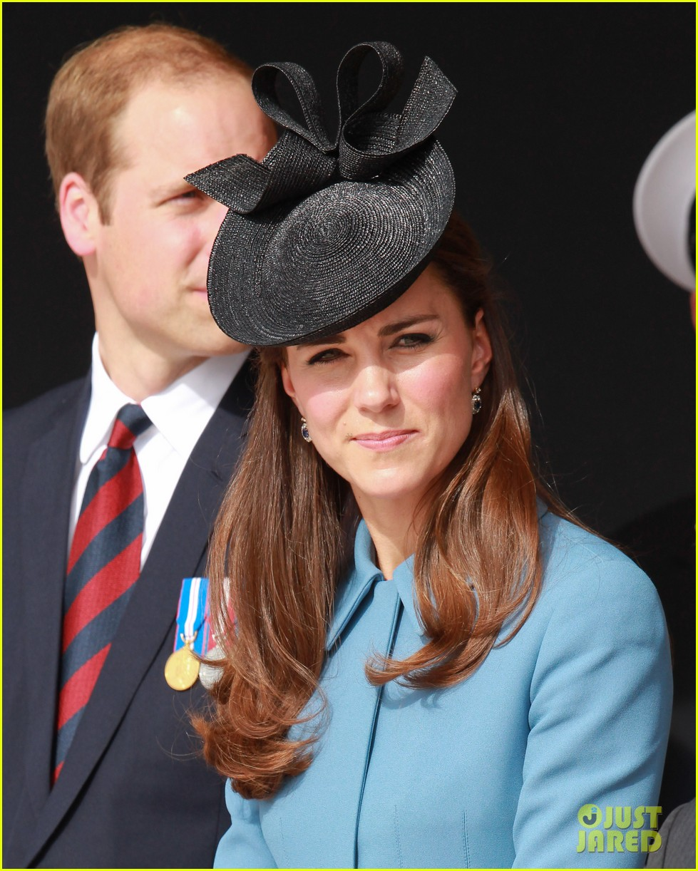 kate middleton prince william pay respects at d day 70th anniversary 223129892