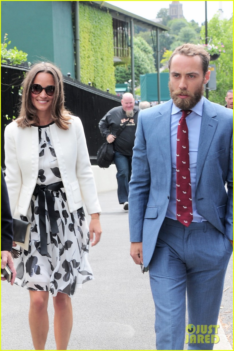 pippa middleton james middleton wimbledon spectators 093144045