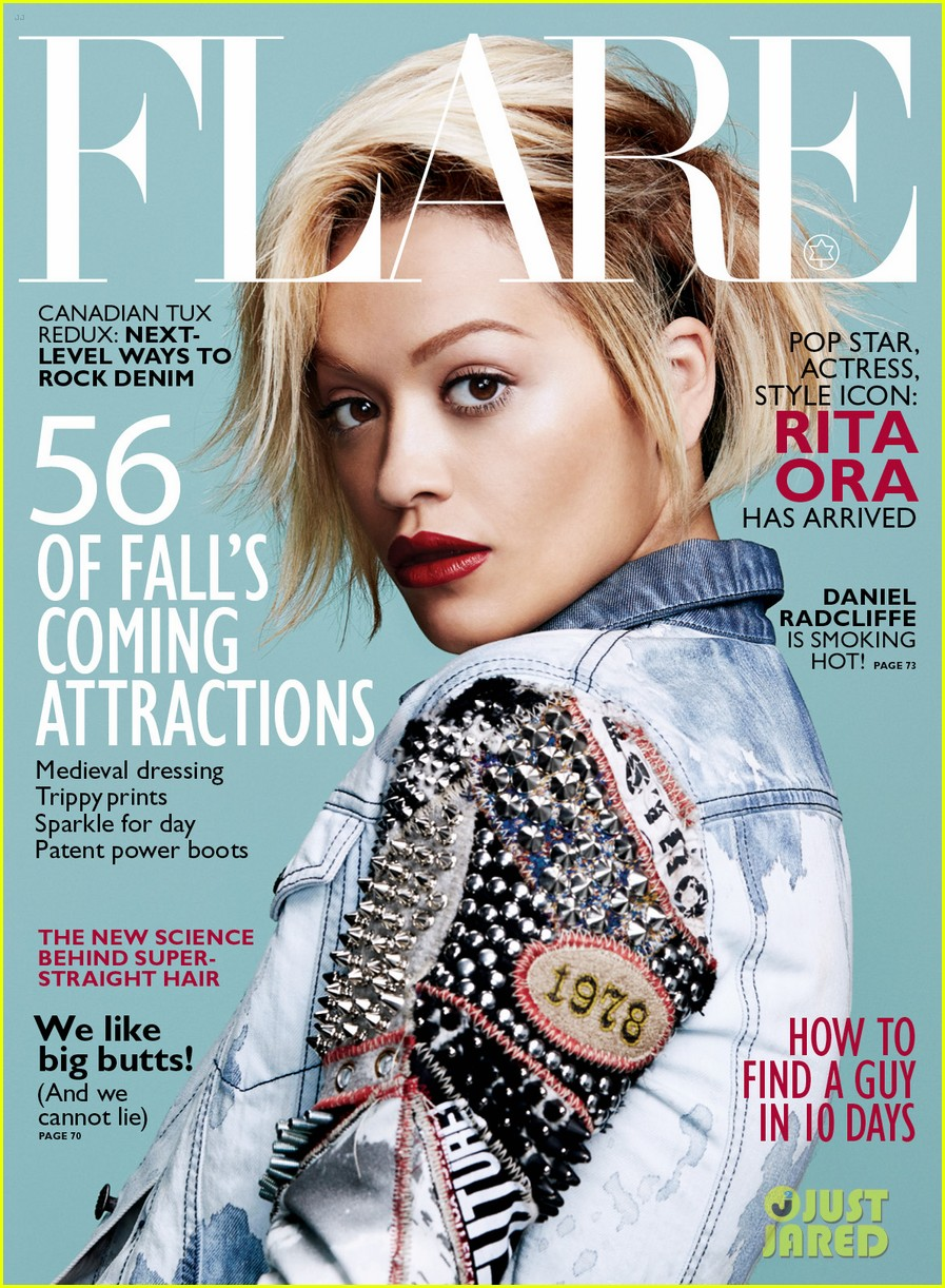 rita ora flare august 2014 issue 05