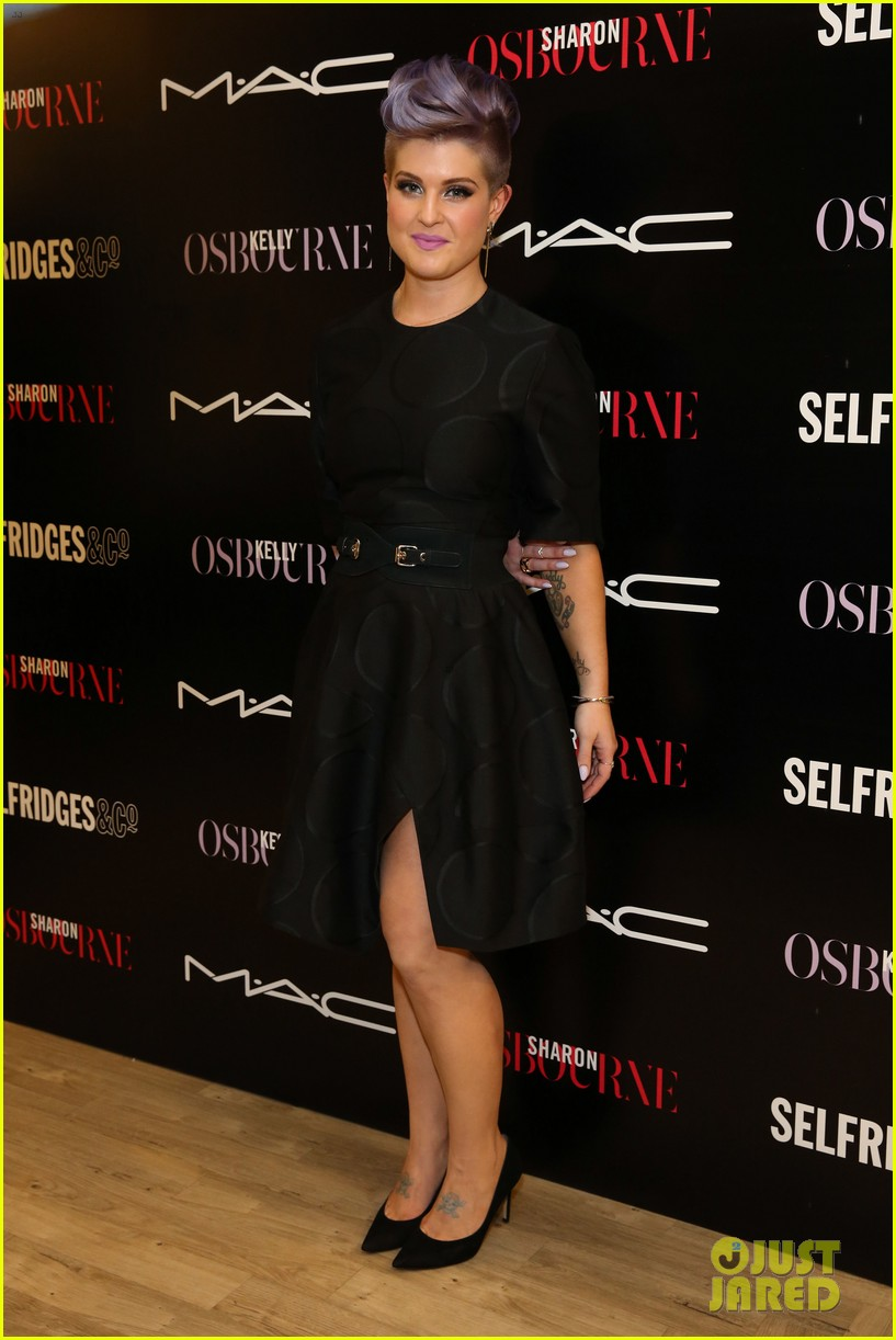 kelly osbourne launches her mac collection with mother sharon 083132365