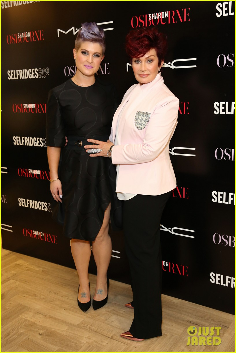 kelly osbourne launches her mac collection with mother sharon 15
