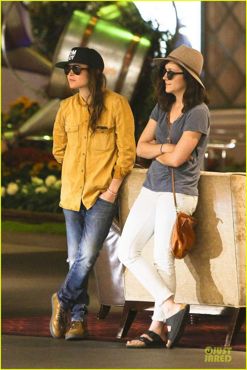 ellen page sunday shopping with close gal pal 21