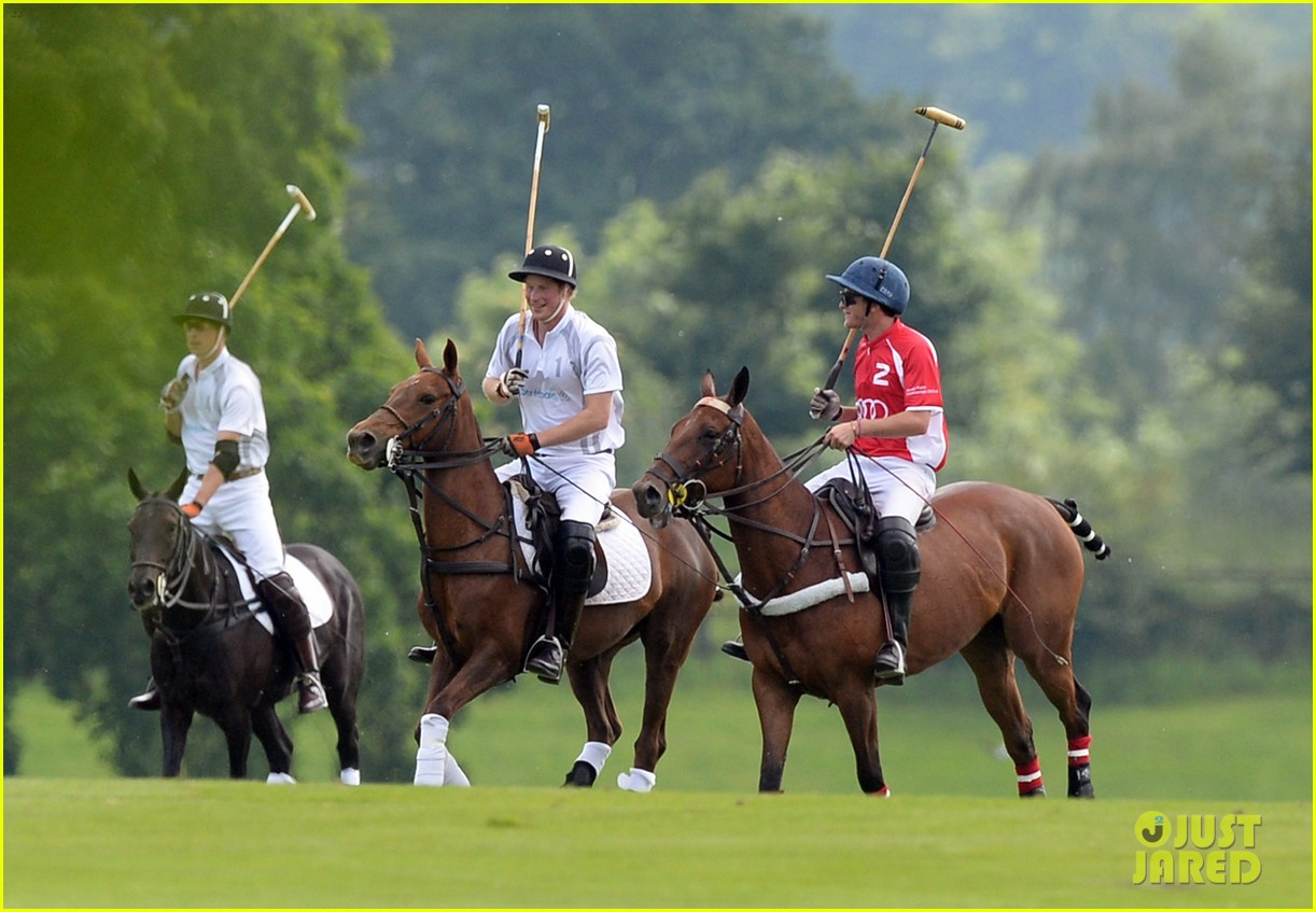 prince william harry audi polo challenge day two 17