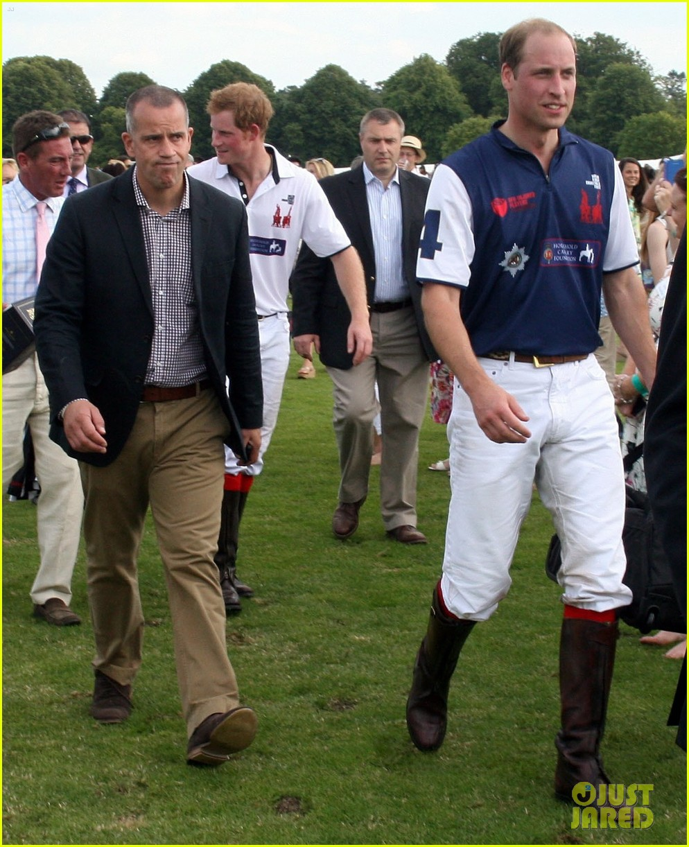 prince harry prince william make it a royal affair at polo match 04