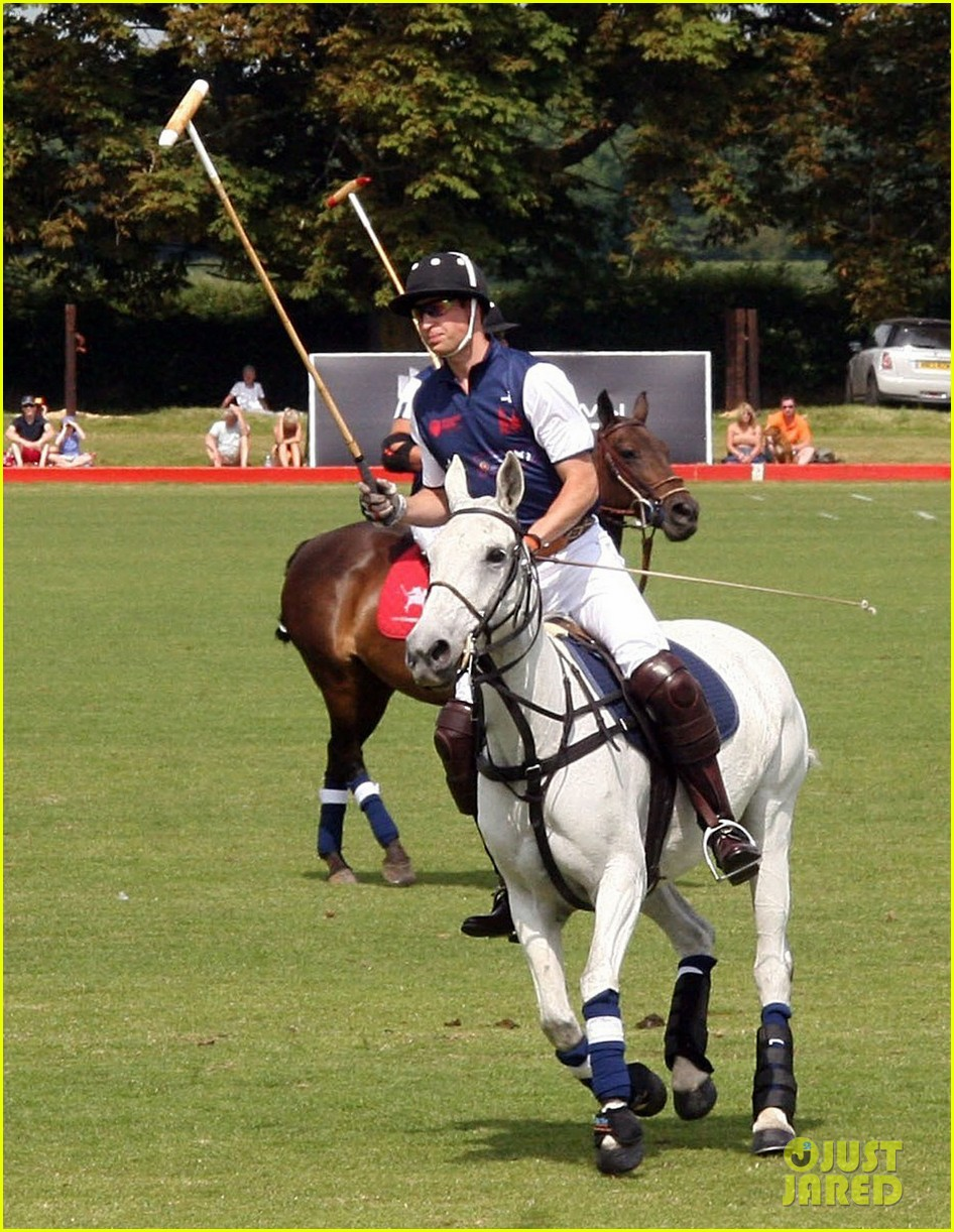 prince harry prince william make it a royal affair at polo match 07