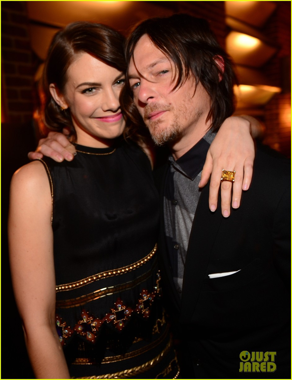 norman reedus lauren cohan guys choice awards 2014 16